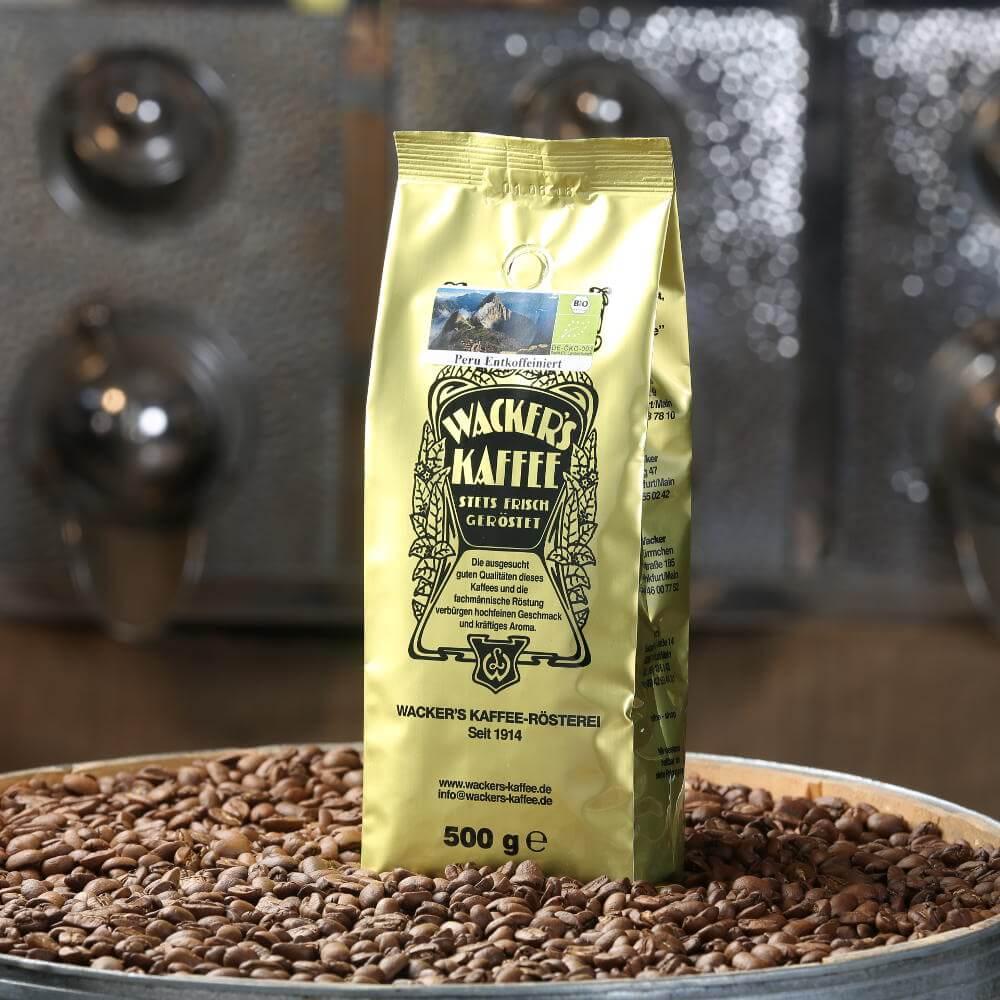 Peru Bio Kaffee entkoffeiniert (DE-Öko-003)