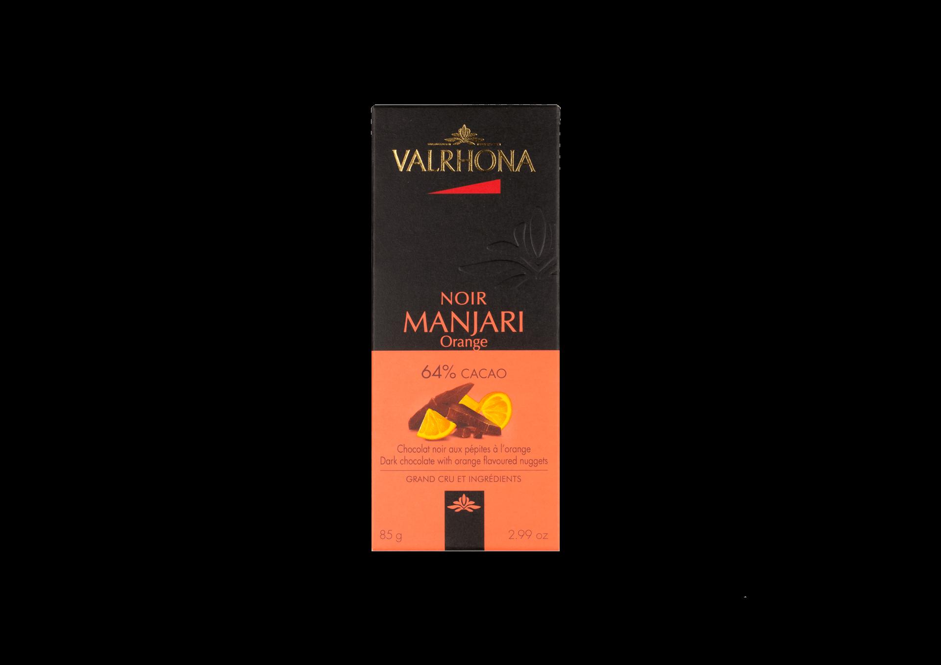 Valrhona Manjari Noir Orange 64%