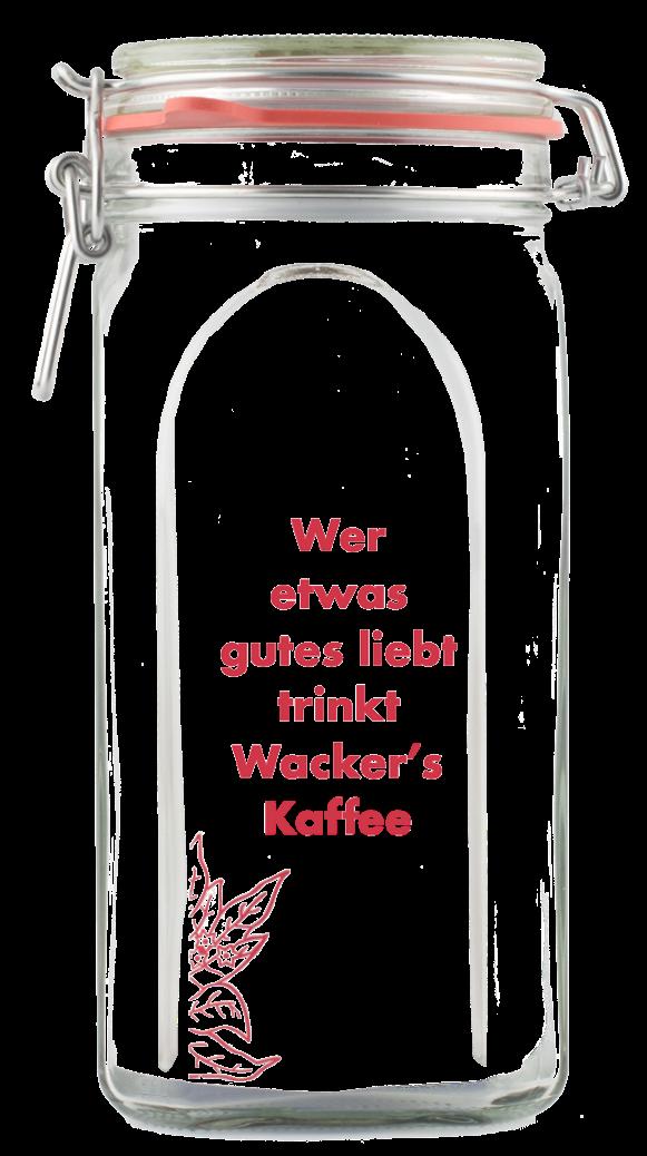 Vorratsglas Wacker's 500 g